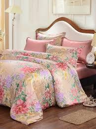 seamless 100 silk duvet cover fitted sheet pillowcase bedding set