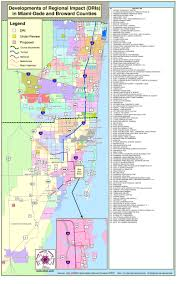 Miami Dade County Map by Developments Of Regional Impact Dris South Florida Regional