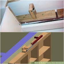 Minecraft Secret Bookshelf Door How To Build A Hidden Door Bookshelf 6 Steps With Pictures