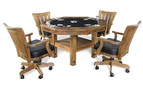 Sunny Design Furniture Convertible Poker U0026 Dining Table Sedona By Sunny Designs 1005ro