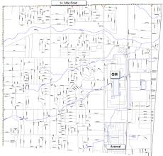 Storm Sewer Design Spreadsheet Warren Macomb And Gis Drain Maps Red Run