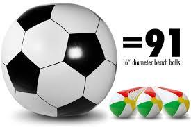 soccer 6 in diameter