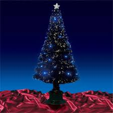 beautiful christmas tree in blue u2013 happy holidays