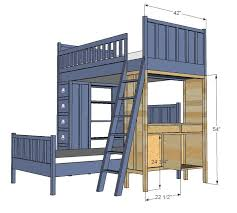 Build Your Own Loft Bed With Desk by 107 Best Toddler Furnishings Images On Pinterest Room Home And