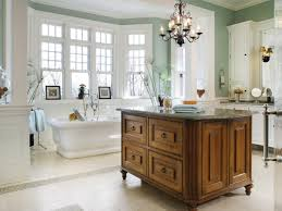 bathrooms classic bathroom with wooden cabinet under classic