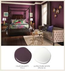 colorfully behr color of the month red
