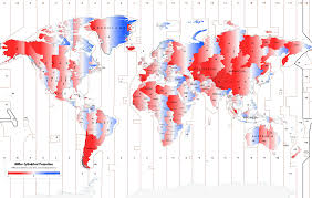 European Time Zone Map by Daylight Time Politics Makes For Strange Time Zones World Cbc