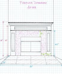 100 wood burning fireplace dimensions brick fireplace ideas