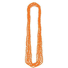 orange bead necklace images Orange bead necklace jpg