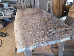table top glue up black walnut dinning table rustic elegance meets modern straight