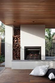 modern fireplace bower architecture renovate a private home in caulfield modern