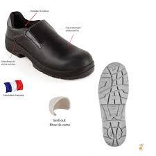 chaussure de cuisine noir bg