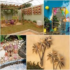Garden Walls Ideas by Outdoor Garden Wall Decor U2013 Home Design And Decorating