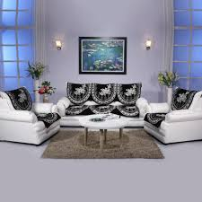 House Attire  Pc Sofa Cover Set Sofa Cover Sets HomeShop - Sofa cover designs
