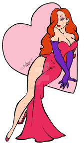 Pink Flat Color Jessica Rabbit Flat Colors By Aichan25 On Deviantart