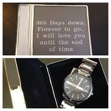 wedding anniversary gift ideas for him 1st wedding anniversary gifts for him