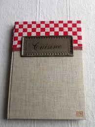 cahier de cuisine vierge livre de cuisine carnet de recettes la échoppe de fée d