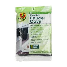 Outdoor Faucet Freezing Duck Brand 280462 Insulated Soft Flexible Faucet Cover For Freeze