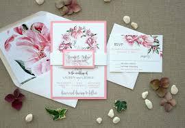 garden wedding invitations floral garden wedding invitations pink wedding invitations