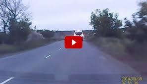 insane car crash caught on tape 4wheel online blog automotive news