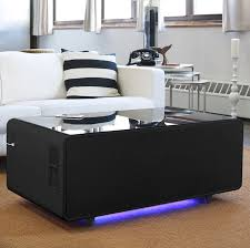 livingroom table the amazing coffee table that chills and charges phones is now