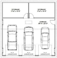 4 car garage dimensions garage dimensions 1 car images about house plans on pinterest one