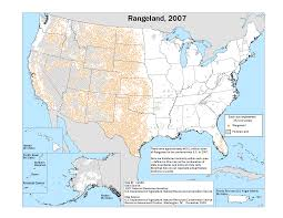 Southwestern United States Map by Focus On Rangeland Southwest Climate Hub