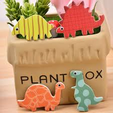 24 pcs pack dinosaur cupcake toppers picks cake