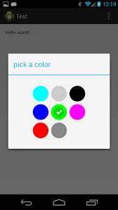 android color picker github flavienlaurent colorpicker colorpicker is a library