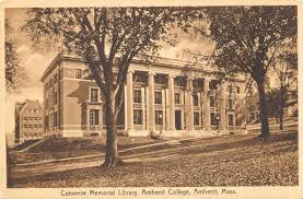 amherst college postcards 1920 1929 frederick