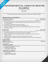 dental hygiene resume template 2 dental assistant resume exles pleasing certified dental assistant