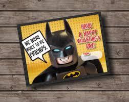 batman valentines lego etsy
