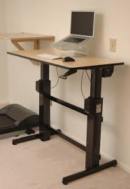 Standing Height Desk Ikea by Crank Standing Desk Best Home Furniture Decoration