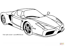 police ferrari enzo ferrari enzo car coloring page free printable coloring pages