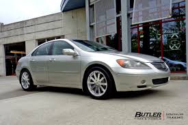 acura rl acura rl with 18in tsw brooklands wheels exclusively from butler