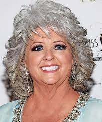 is paula deens hairstyle for thin hair paula deen medium wavy formal hairstyle