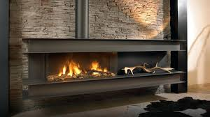 ceramic stones for gas fireplace inside image stone design ideas
