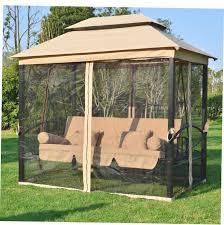 Swing Bed With Canopy Gazebo Swing Bed Gazebo Ideas