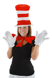 cat in the hat costume dr seuss cat in the hat accessory kit by elope
