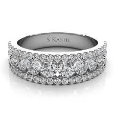 wedding bands 14kt white gold diamond wedding band engagement rings
