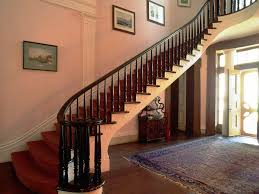 Metal Stair Banister Stairs Stainless Steel Railings Interior Modern Stair Railing