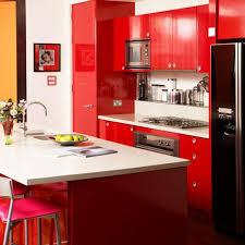 belles cuisines contemporaines 12 belles cuisines contemporaines avec des placards rouges bricobistro