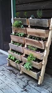 budget friendly pallet furniture designs herbs garden pallets