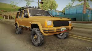modified jeep cherokee jeep for gta san andreas