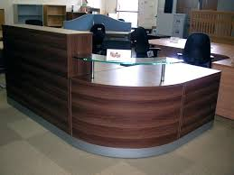 Second Hand Home Office Furniture by Desk Walnut Office Furniture Design With A Height Settings