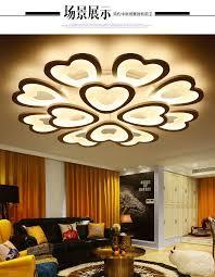 Lights For Living Eusolis 110 220v Plafonnier Led Moderne Ceiling Lights For Living
