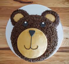 teddy bear face cake anacortes baking companyanacortes baking