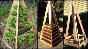 Diy Strawberry Planter by Space Saving Diy Vertical Gardens