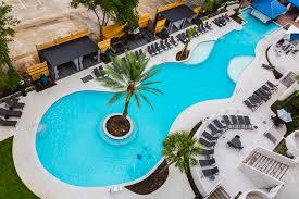 Outside Pool Cool Hotel Pools In Houston Resorts U0026 Hotels In Houston