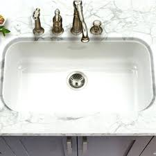 Single Kitchen Sinks Breathtaking Porcelain Undermount Kitchen Sink Medium Size Of